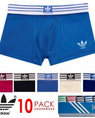 10 Pack Adidas Men's Performance Underwear