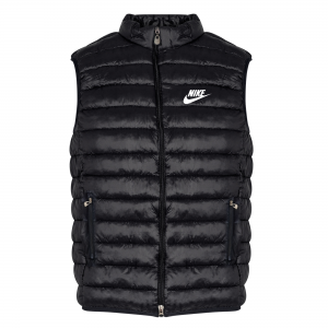 Nike - Αμάνικο Μπουφάν Μαύρο (Slim Fit)