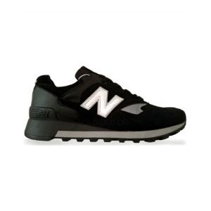 New Balance 577 - Black with White Logo
