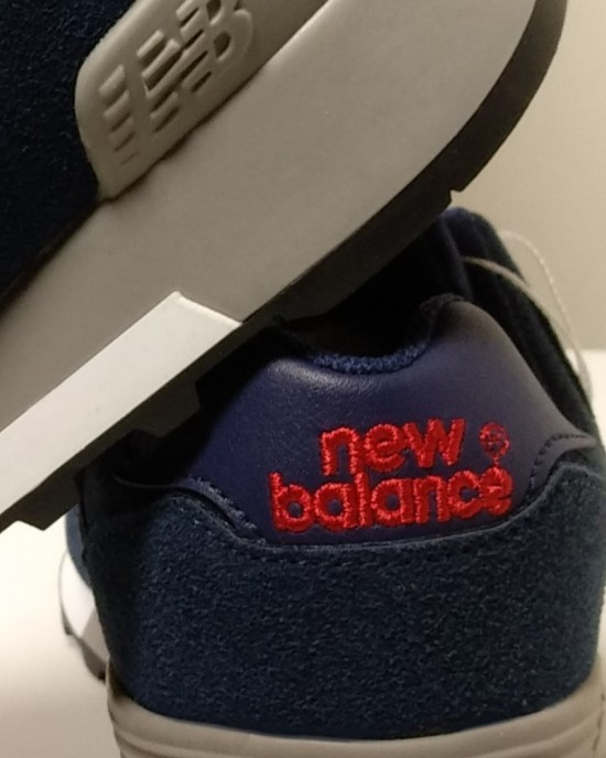 New Balance 577 - Navy Blue with Blue Logo