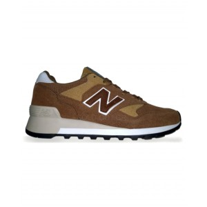 New Balance 577 - Brown with Dark Brown Logo