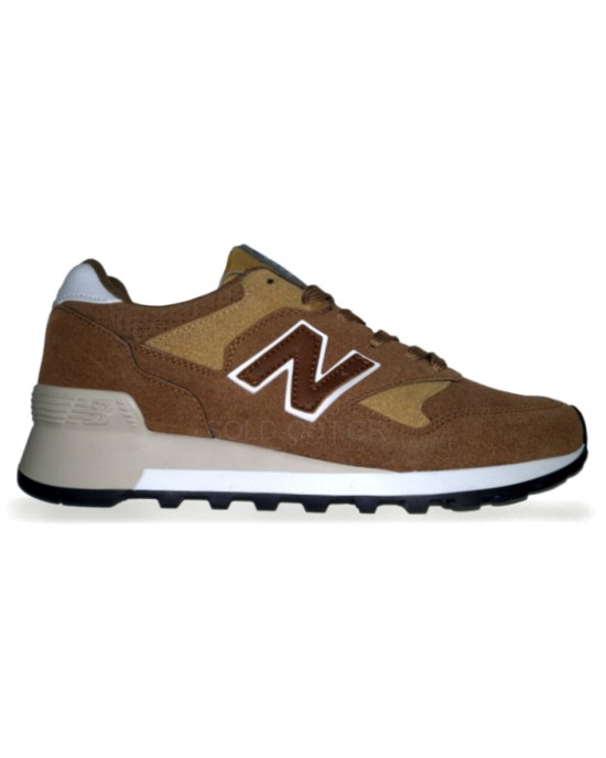 New Balance 577 - Brown with Dark Brown Logo