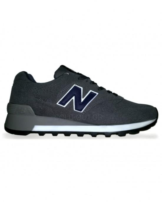 New Balance 577 - Grey with Blue Logo