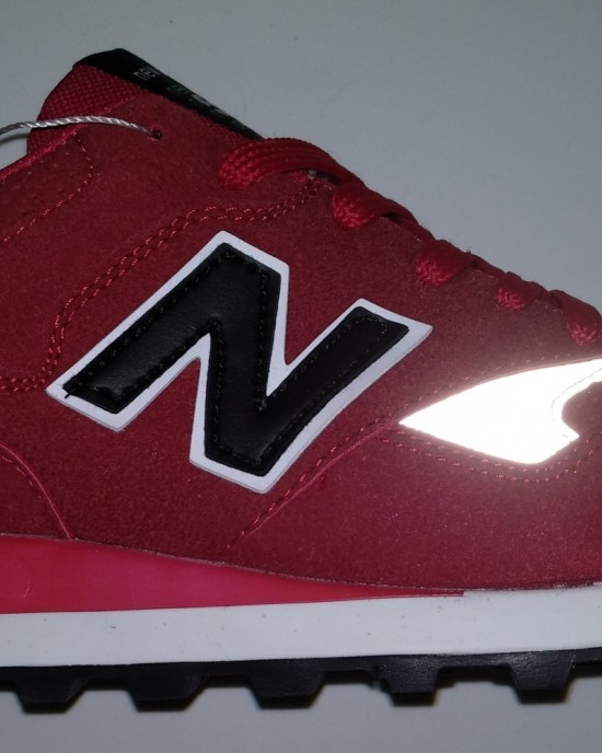 New Balance 577 - Red with Black Logo