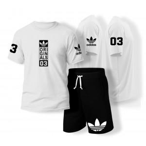 Adidas sports set (shirt & pants) / 4 colors